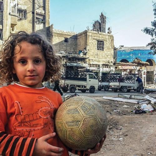 مشروع إغاثة عاجلة لمهجري أحياء دمشق الشرقية